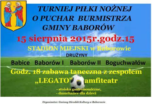 Galeria Puchar burmistrza 2015