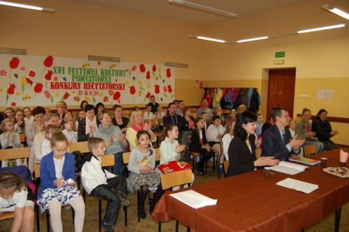 Galeria XVI Festiwal Kultury Powiatowej Konkurs Recytatorski w Baborowie 25-26.04.2016