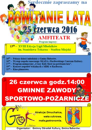 Galeria Powitanie lata 25.06.2016