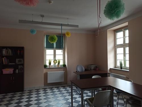 """Galeria Konkurs w Świetlicy Miejskiej """"Akwarela"""" - projekt pracowni"""